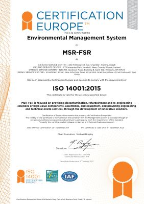 MSR-FSR ISO14001
